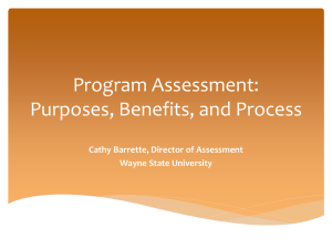 The Program Assessment Cycle