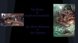 The Sirens and Scylla & Charybdis