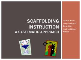 Scaffolding PowerPoint