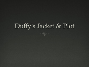 Duffy`s Jacket Vocab PPT