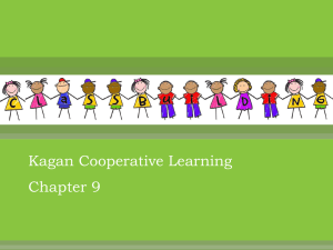 Coop Learning Chapter 9