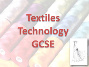 Yr8 Options - Textiles old