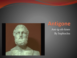Antigone - The Koller Kingdom