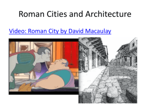 Architecture and Augustus