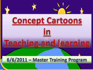Create concept cartoons