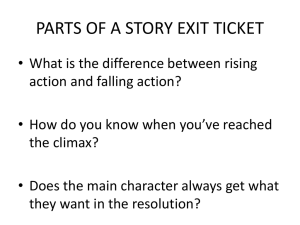 PARTS OF A STORY EXIT TICKET