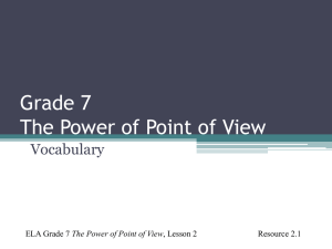 Lesson 2 Resource 2.1 Non-fiction Vocabulary PowerPoint