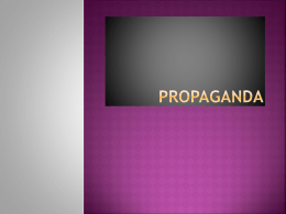 Propaganda - My Teacher Site