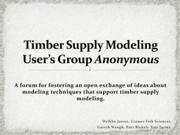 TSUGA - Growth Model Users Group