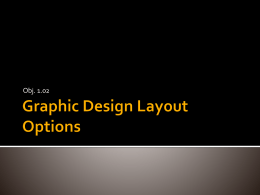 1.02 Graphic Design Layout Options