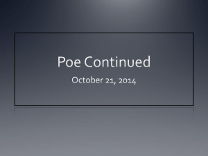Poe Continued