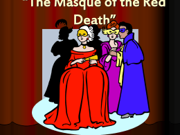 """Masque of the Red Death* - Salopek"