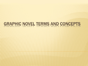Graphic Novel Terms and Concepts