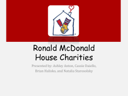 RMH Campaign Powerpoint