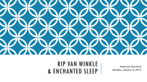 Rip Van Winkle & Enchanted Sleep
