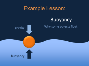 Buoyancy Lesson.ppt
