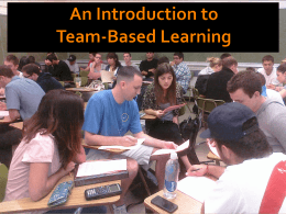 Team Based Learning_Imazeki