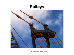 Pulleys - Lewiston School District