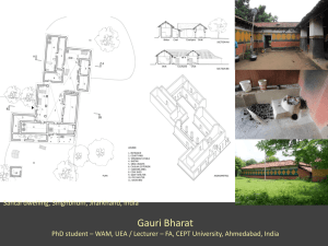 other approaches to architectural histories gauri bharat PhD student