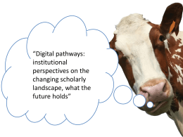 Presentation - Jisc Digitisation and Content