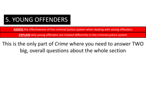 young offenders treated differently