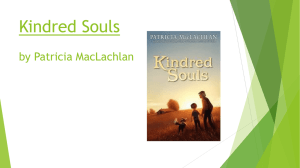 Kindred Souls by Patricia MacLachlin