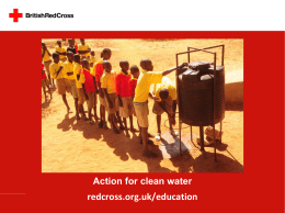 2. Action for clean water PowerPoint