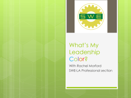 What*s My Leadership Color?