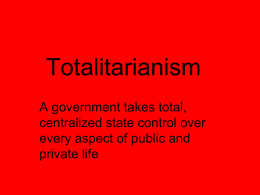 Totalitarianism.ppt