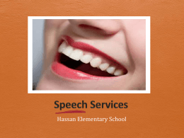 Speech Program PP