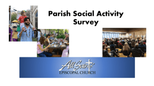 Survey Results - All Saints` Episcopal Church