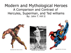 Modern and Mythological Heroes sample2