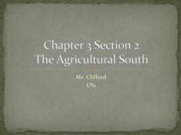 Ch 3.2 The Southern Colonies