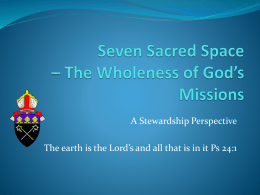 Seven Sacred Space