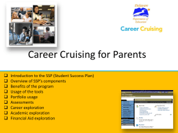 Career Cruising for Parents _Delaware SSP