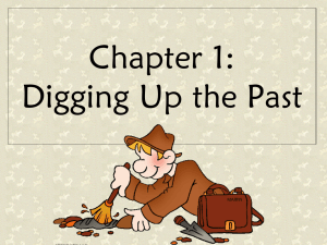 Chapter 1: Digging Up the Past