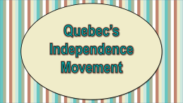 quebecindependencemovement