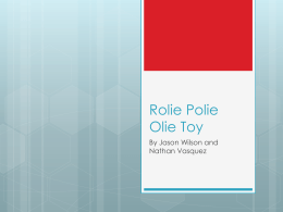 Rolie Polie Olie Toy powerpoint