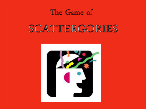L3 Scattegories - SecondarySocialScience