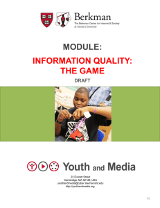 Information Quality: The Game – PPT
