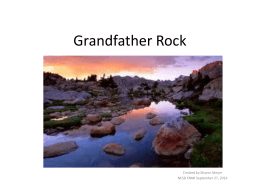 Grandfather Rock