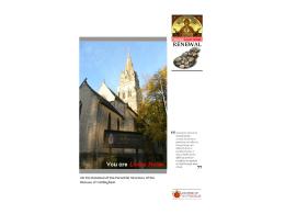 Bishop`s Presentation (PowerPoint)