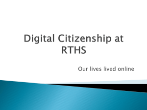 Digital Citizenship at RTHS