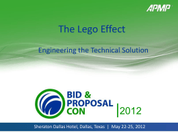 The Lego Effect presentation