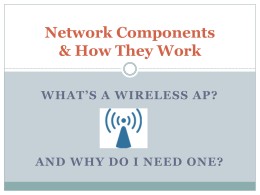 Assignment 3 Network Components Johnson