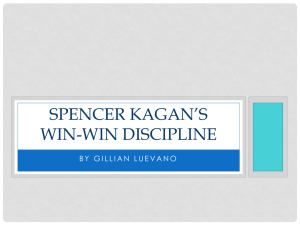 Spencer Kangan`s Win-Win Discipline PowerPoint