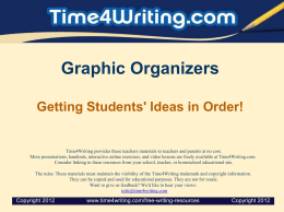 TeachingWriting_GraphicOrganizers