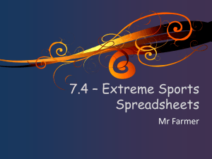 7.4 Extreme Sports Lesson 1 - St-James-ICT