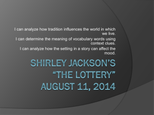 Shirley Jackson and
