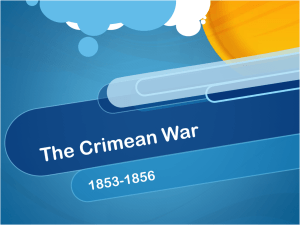 The Crimean War - TheFacultyLounge
